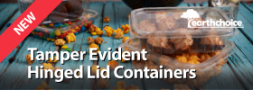 Tamper Evident Hinged Lid Containers