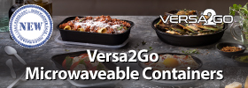 Versa2Go Microwaveable Containers