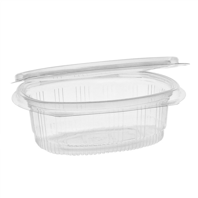 12 oz APET hinged lid deli container