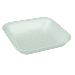 #1 WHITE SUPERMARKET TRAY