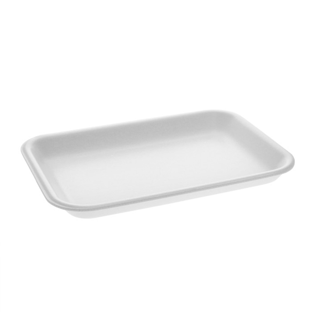 #2 WHITE SUPERMARKET TRAY
