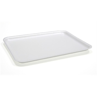 #14 WHITE FOAM MEAT TRAY
