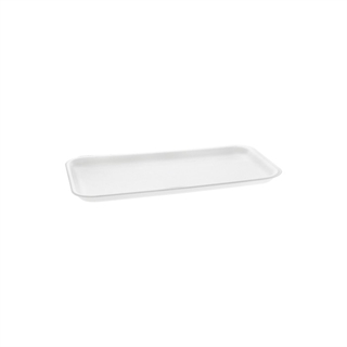 #10S WHITE SUPERMARKET TRAY