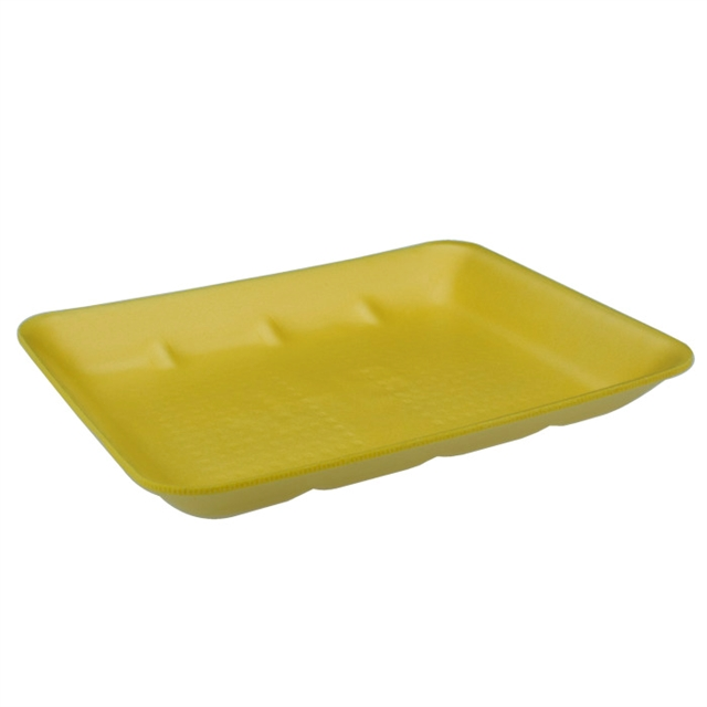 8H YELLOW HEAVY SUPERMARKET TRAY