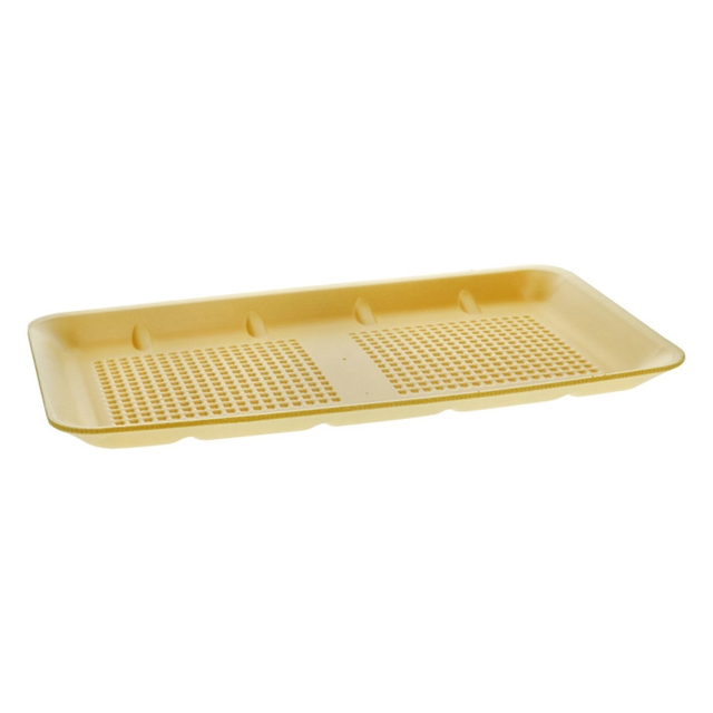 25SH YELLOW SUPERMARKET MEAT TRAY