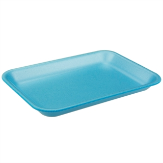 #2 BLUE SUPERMARKET TRAY