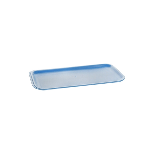 10S BLUE SUPERMARKET TRAY