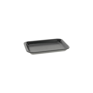 #2 BLACK SUPERMARKET TRAY