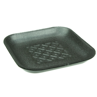 #1S BLACK MEAT TRAY