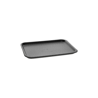 #4S BLACK MEAT TRAY