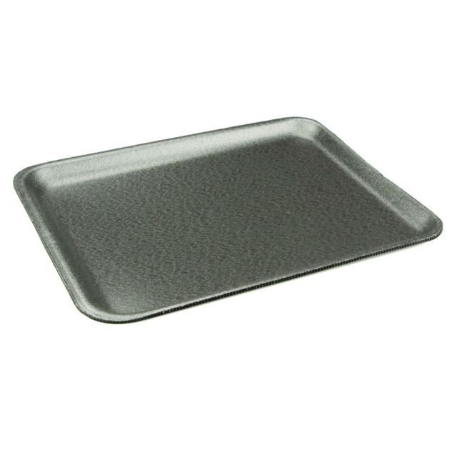 8S BLACK SUPERMARKET TRAY