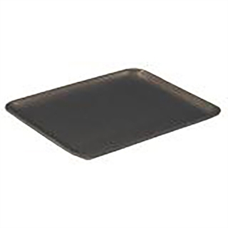 #12S BLACK SUPERMARKET TRAY
