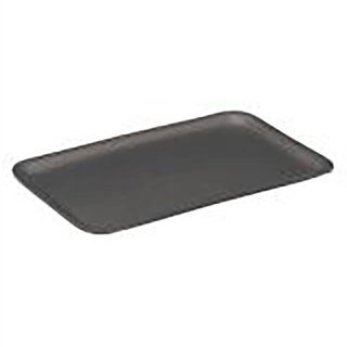 #16S BLACK SUPERMARKET TRAY