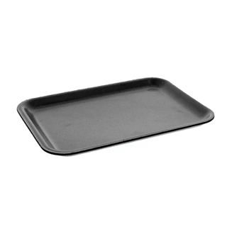 #20S BLACK SUPERMARKET TRAY