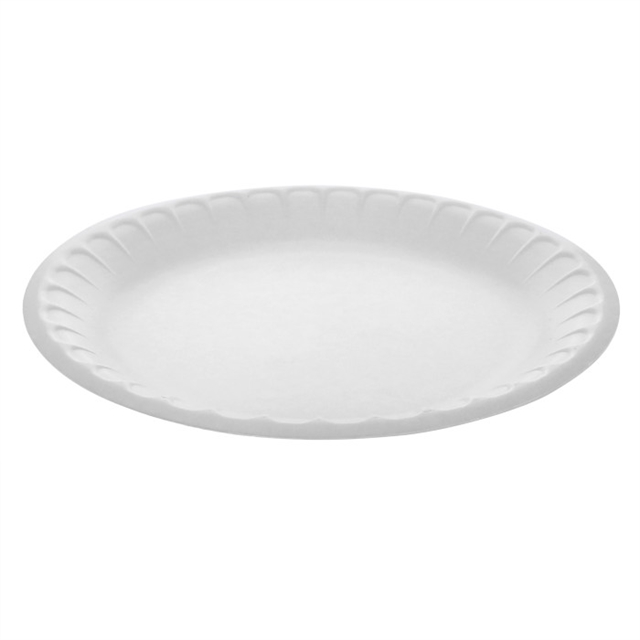 "9"" WHITE PLATE"