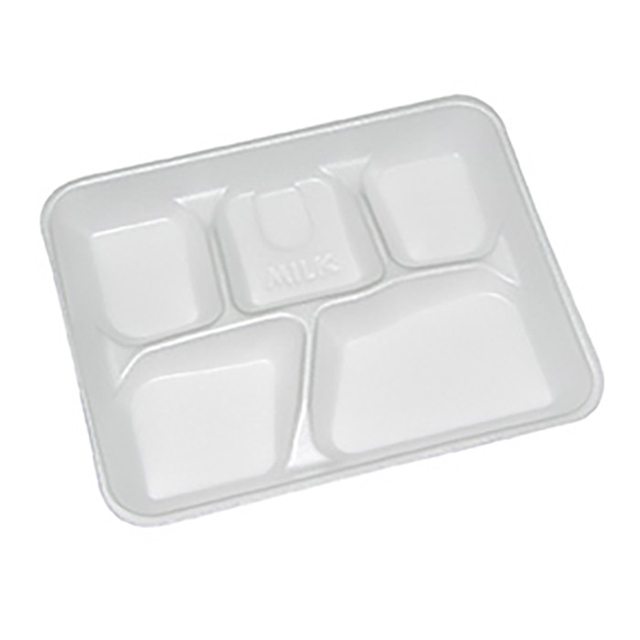 5 COMP SCHOOL LUNCH TRAY