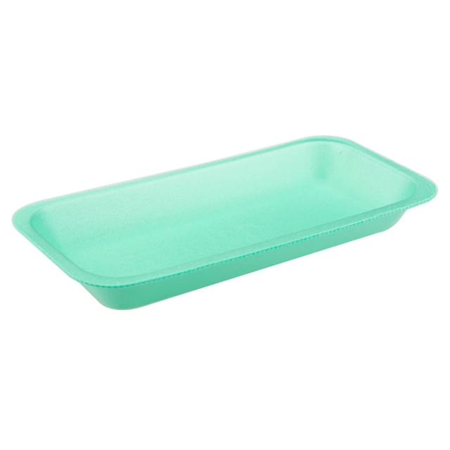 1 1/2 GREEN SUPERMARKET TRAY