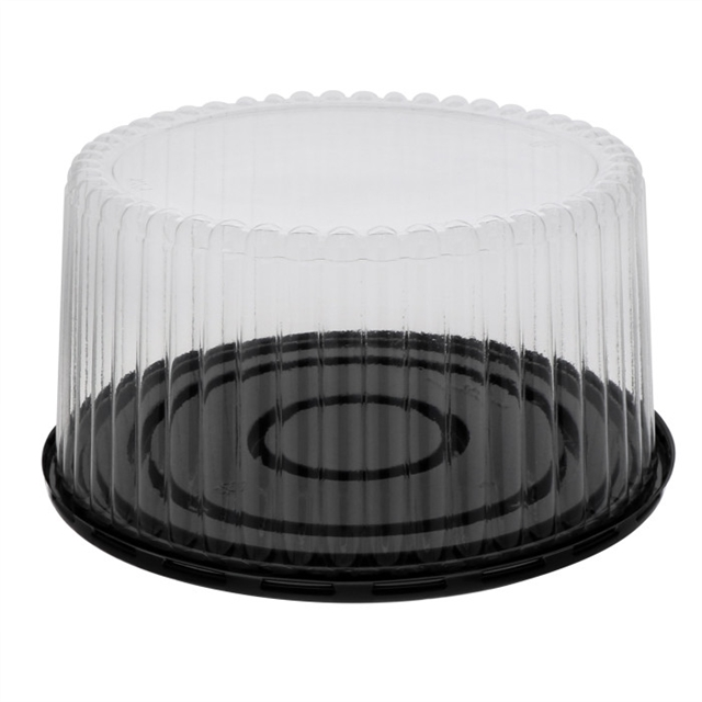 5in Tall Flutd Dome & Base for 8in cake
