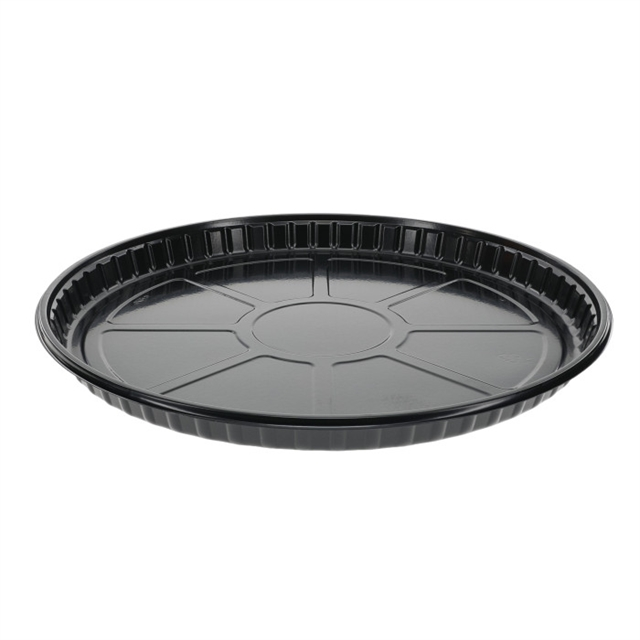 "CPET PAN 12"" BAKEABLE-BLACK"