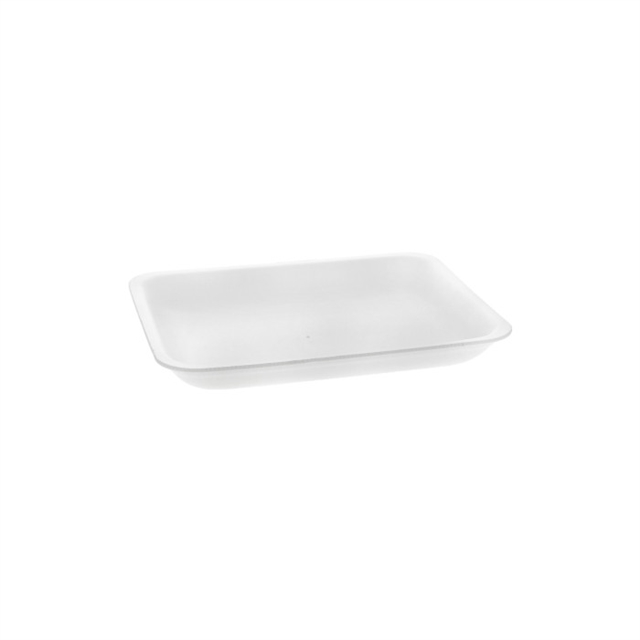 4P WHITE MEDIUM SUPERMARKET TRAY