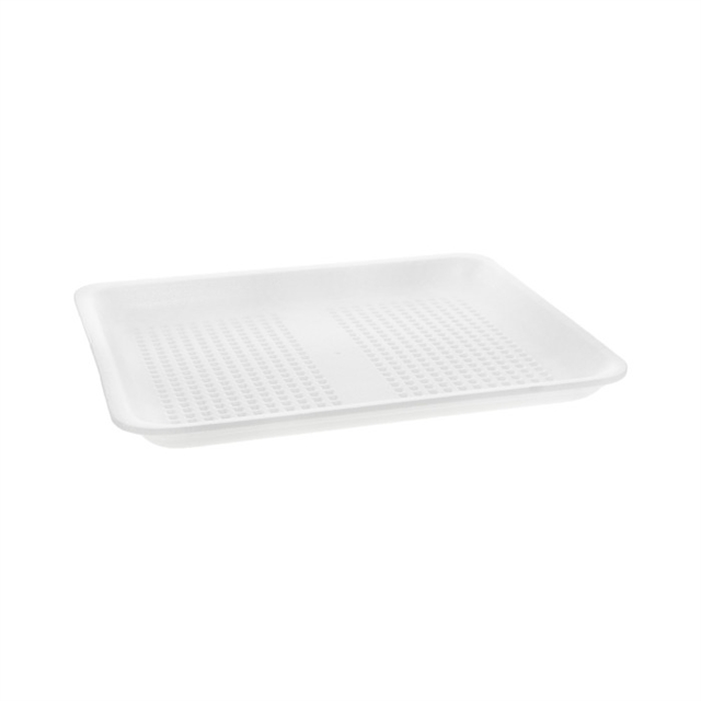 9L WHITE SUPERMARKET TRAY