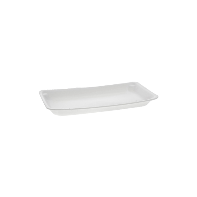 10P WHITE SUPERMARKET TRAY