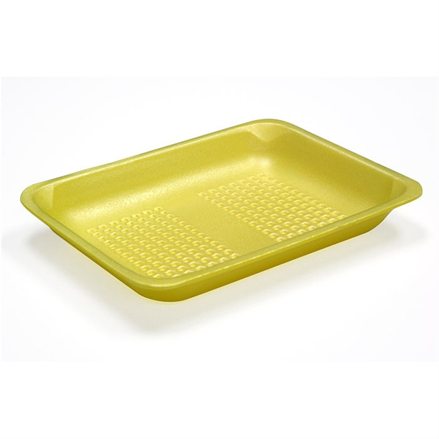 4S YELLOW HEAVY SUPERMARKET TRAY