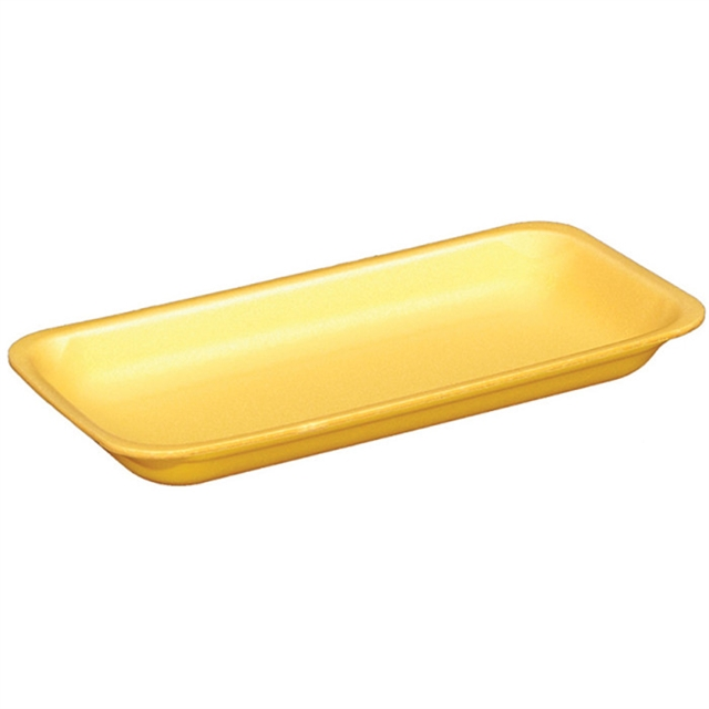 10S YELLOW SUPERMARKET TRAY