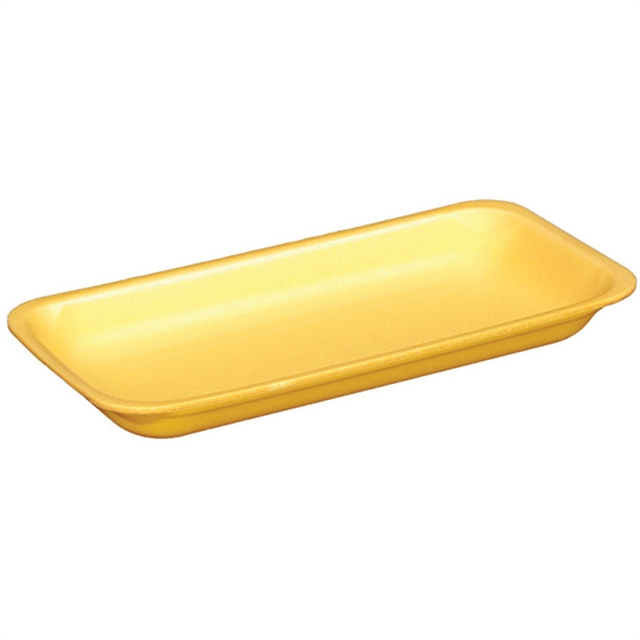 12S YELLOW HEAVY SUPERMARKET TRAY