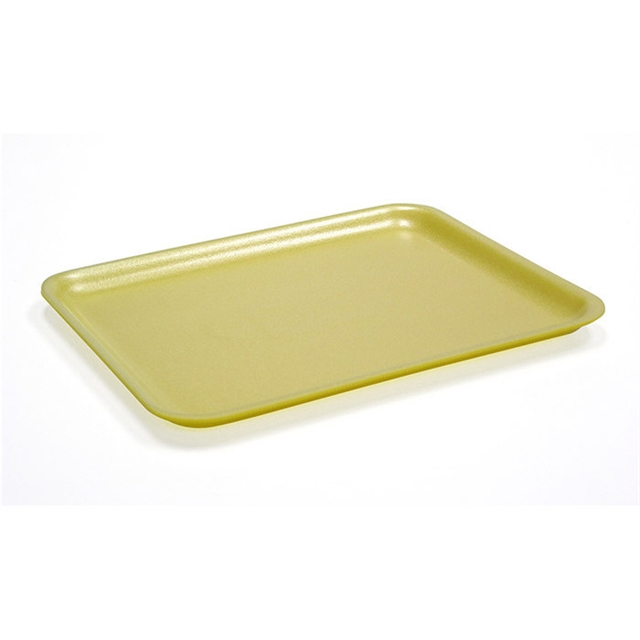 17S YELLOW  SUPERMARKET TRAY