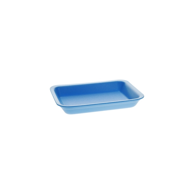 2PZ Blue Supermarket Tray
