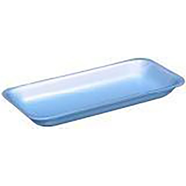 10P BLUE SUPERMARKET TRAY