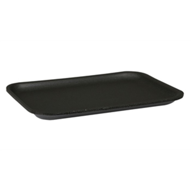 2S BLACK SUPERMARKET TRAY