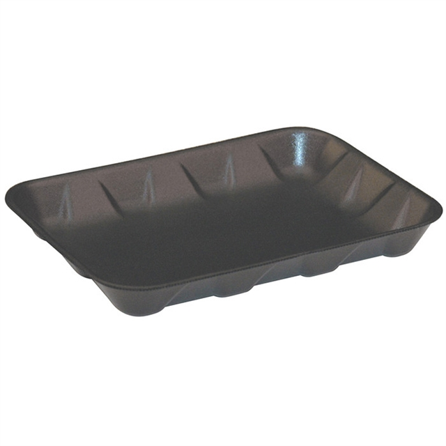 4D BLACK SUPERMARKET TRAY