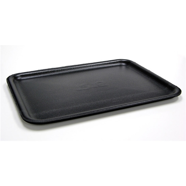 #1014 BLACK SUPERMARKET TRAY
