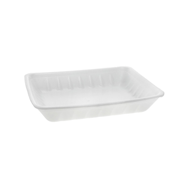 809P WHITE FOAM PROC TRAY