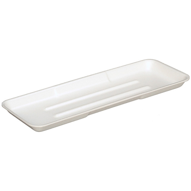 7P WHITE FOAM PROCESSOR TRAY 150 CT