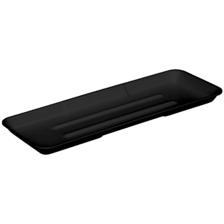 7P BLACK FOAM PROCESSOR TRAY 150 CT