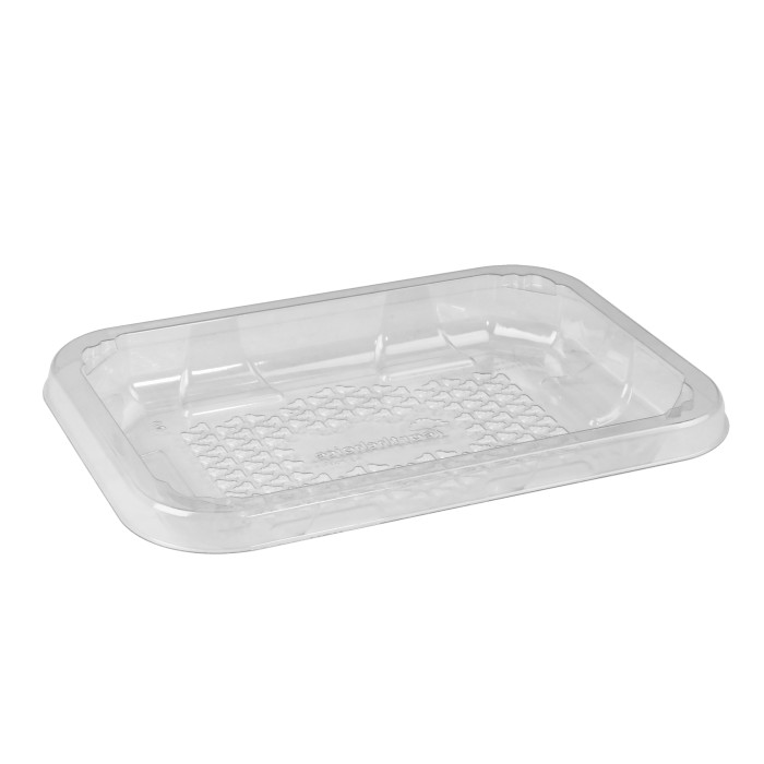 2D Clear RPET Tray, Clear, 300 Ct.