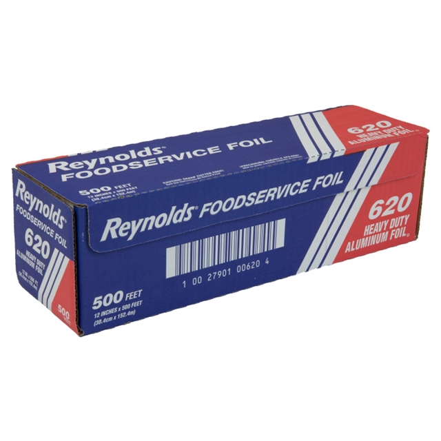 "Reynolds® 12"" X 500' Heavy-Duty Aluminum Foil Roll, 1 Ct."