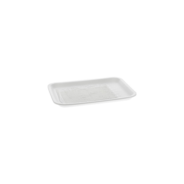 2S WHITE PROCESSOR TRAY W/ SAP PAD