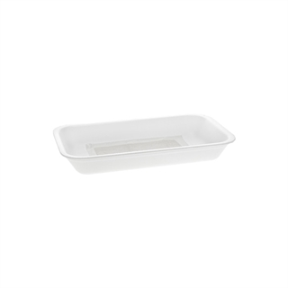 10D WHITE PROCESSOR TRAY W/SAP PAD