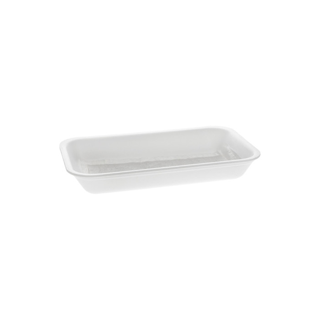10D WHITE PROCESSOR TRAY W/ POUCH PAD