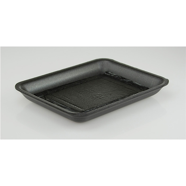 9D BLACK PROC TRAY W/ POUCH PAD