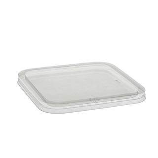 6 in Square Flat Lid