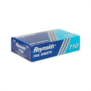"Reynolds® 9"" X 10-3/4"" Pop-Up Aluminum Foil Wrap Sheets, 2,400 Ct."
