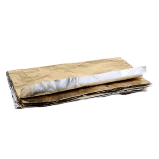 "Reynolds® 9"" X 10-3/4"" Pop-Up Aluminum Foil Wrap Sheets, Gold, 2,400 Ct."