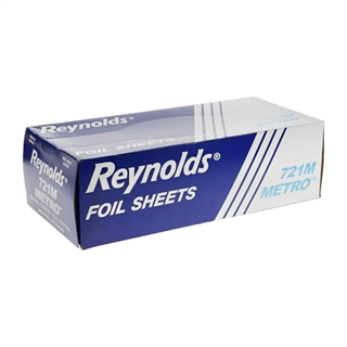 "Reynolds® Metro™ 12"" X 10-3/4"" Pop-Up Aluminum Foil Wrap Sheets, 3,000 Ct."