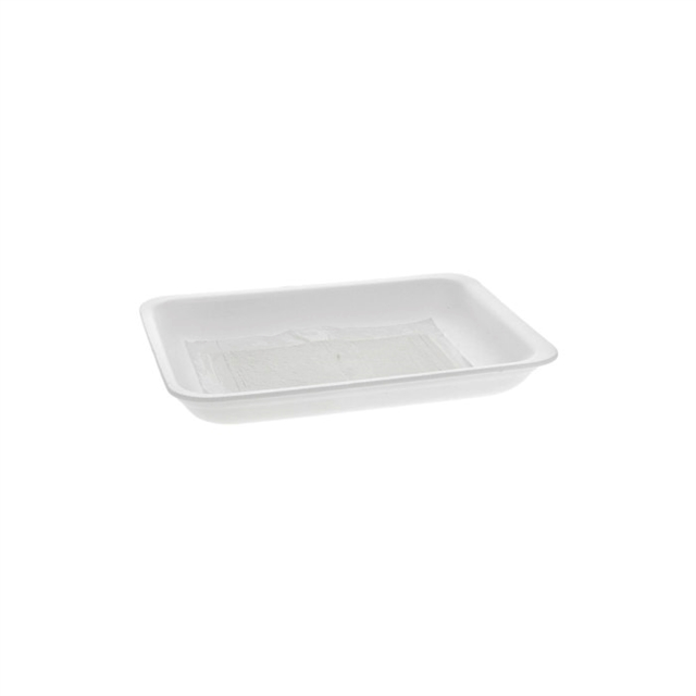 2P PADDED WHITE PROCESSOR TRAY
