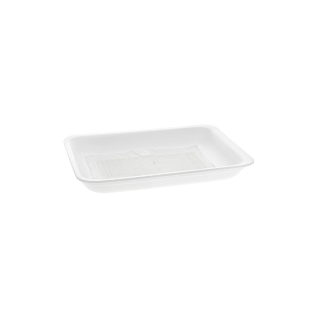 WHITE PROCESSOR TRAY W/ SAP POUCH PAD